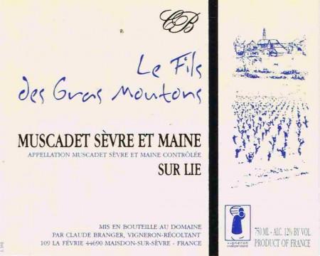 Claude Branger label
