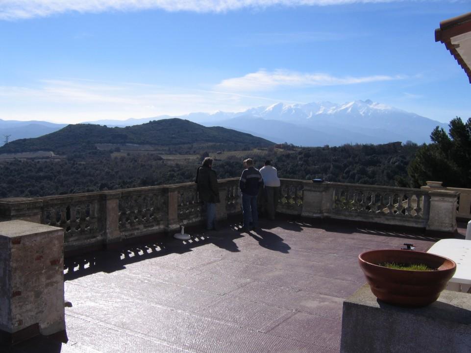 Château de Caladroy balcony