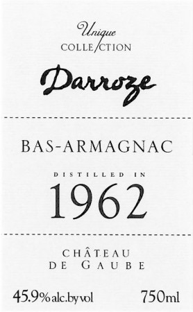 Darroze label