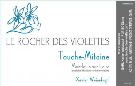 Le Rocher des Violettes label