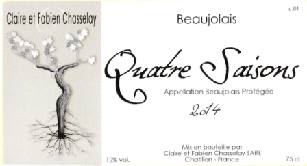Domaine Chasselay label