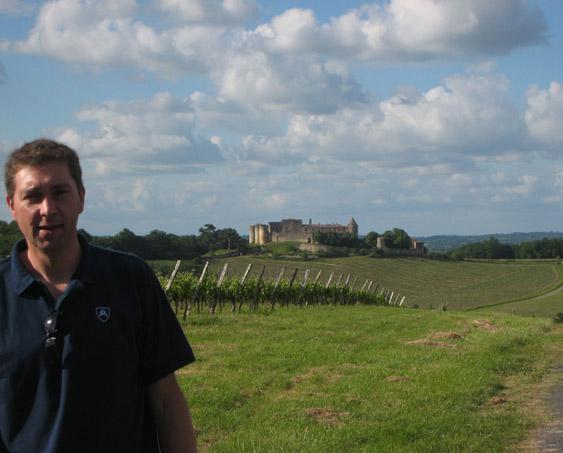 Olivier of Château Haut-La Péreyre and Château de Benauge
