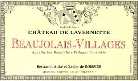 Château de Lavernette label