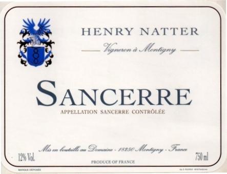Domaine Henry Natter Label