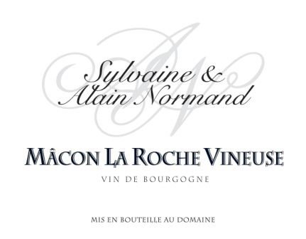 Domaine Sylvaine & Alain Normand label