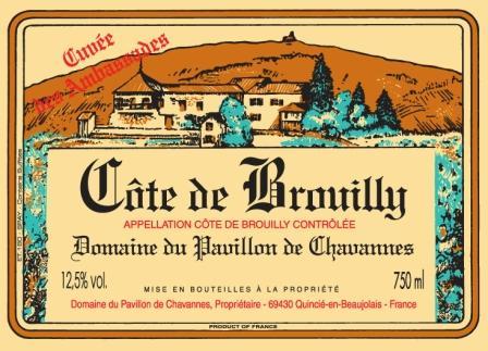 Domaine du Pavillon de Chavannes label