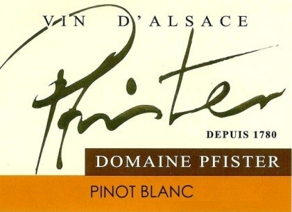 Domaine Pfister label
