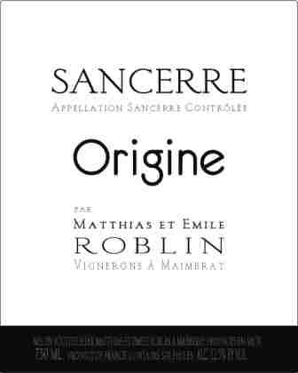 Domaine Matthias & Emile Roblin_label