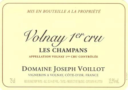Domaine Joseph Voillot label