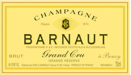 Champagne Barnaut Label