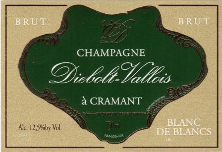 Champagne Diebolt Vallois_label