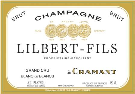 Lilbert Blanc de Blancs label