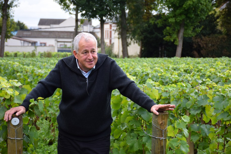 Jean Hervé Chiquet of Champagne Jacquesson