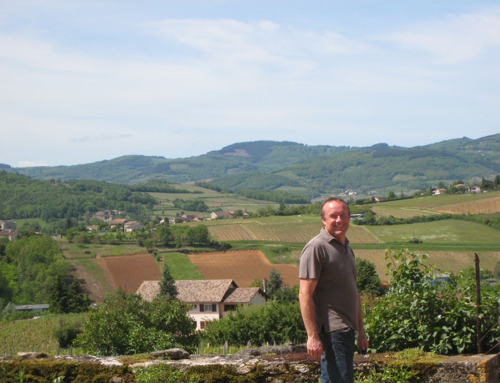 Alain Normand of Domaine Sylvaine & Alain Normand
