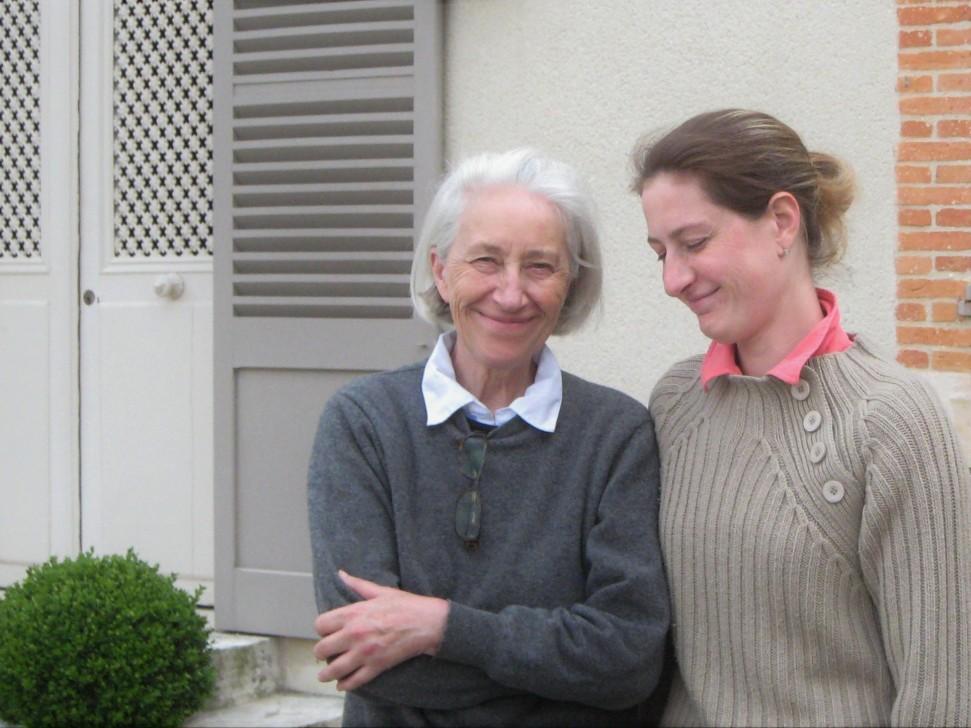 Nicole and Valérie Moncuit of Champagne Pierre Moncuit