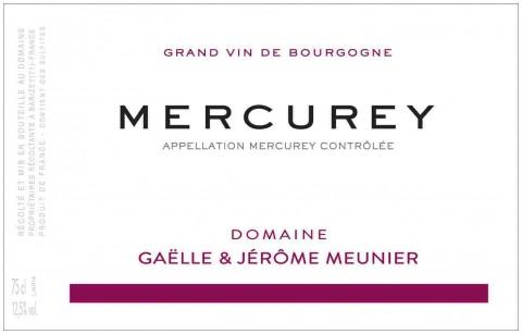 Domaine Gaëlle et Jérôme Meunier label