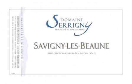 Domaine Serrigny label