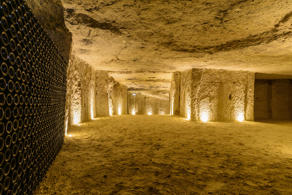 Charles Bove cellar