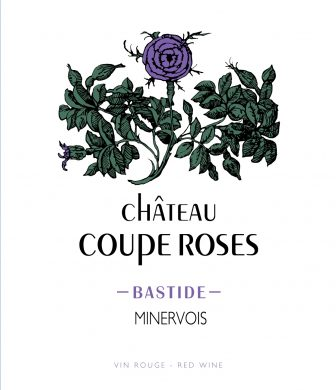 Château Coupe Roses label