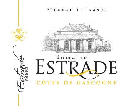 Domaine Estrade label
