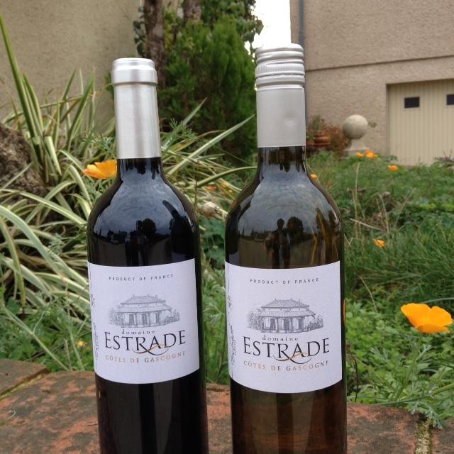 Domaine Estrade bottles