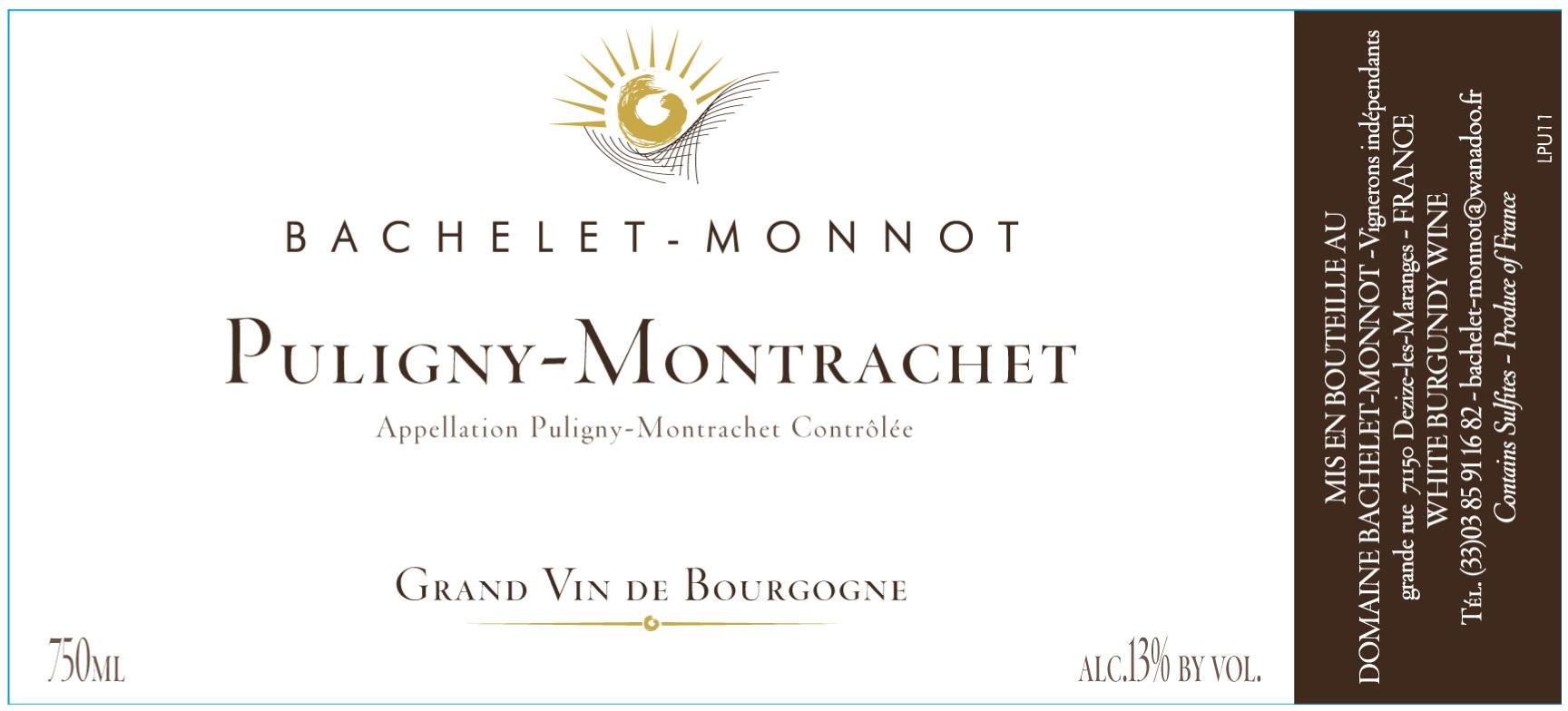 Domaine Bachelet-Monnot label