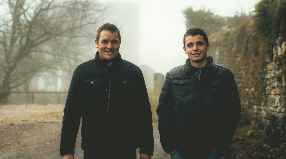 Father and son of Domaine Jean-Luc Mouillard