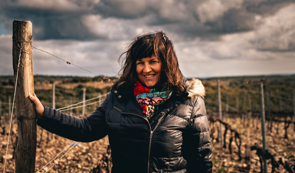 Françoise Ollier of Domaine Ollier-Taillefer