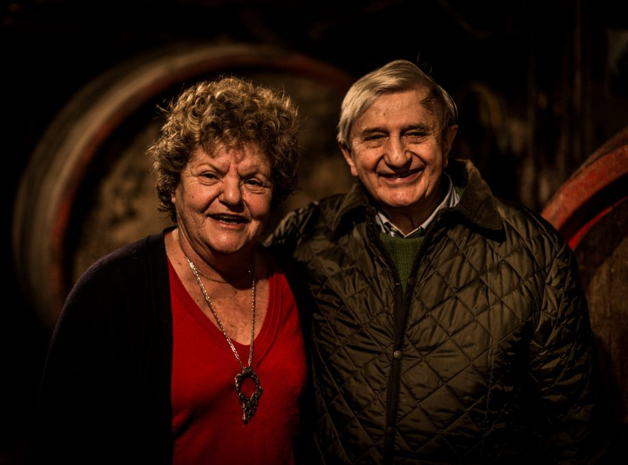 Paul and Betty Jambon of Domaine du Pavillon de Chavannes