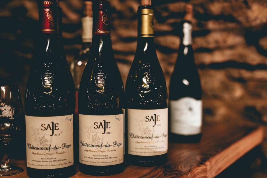Domaine de Saje's bottles