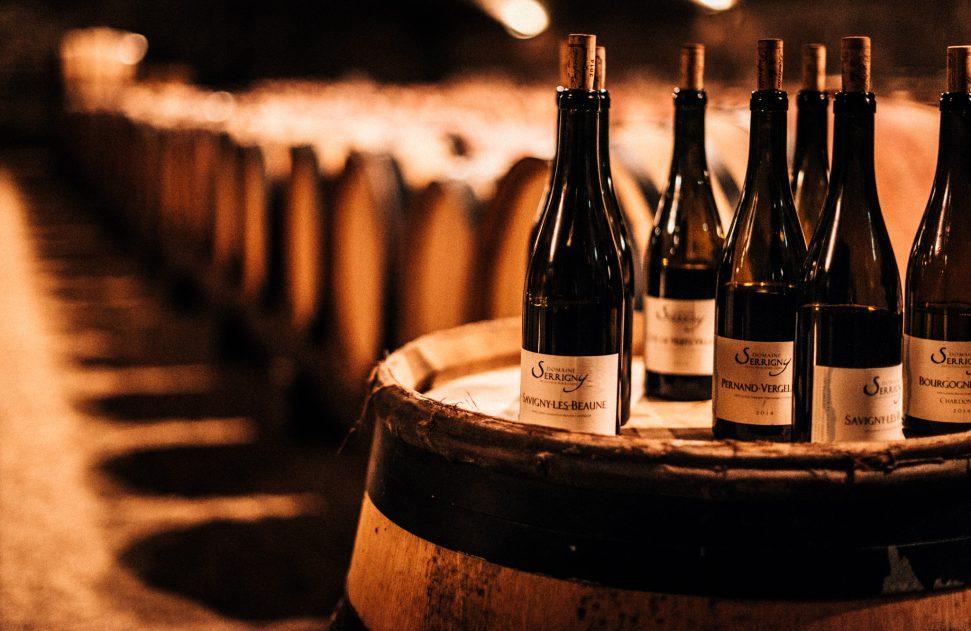 Domaine Serrigny bottles