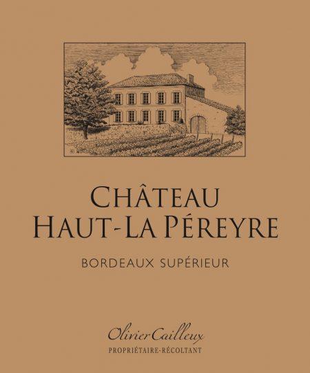Château Haut-La Péreyre label