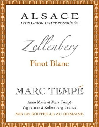 Domaine Marc Tempé label