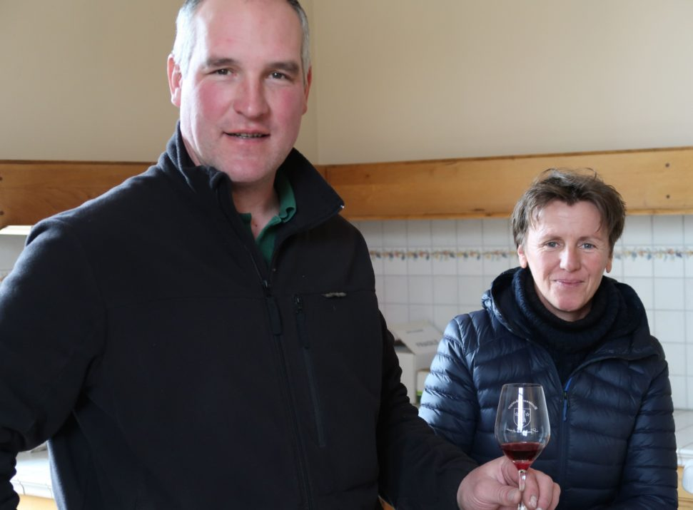 Marie Laure and Jean-Luc of Domaine Serrigny