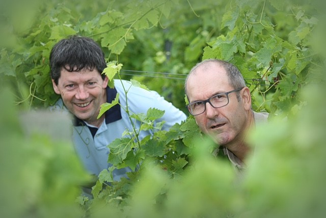 Domaine Rotier's Alain Rotier and Francis Marre
