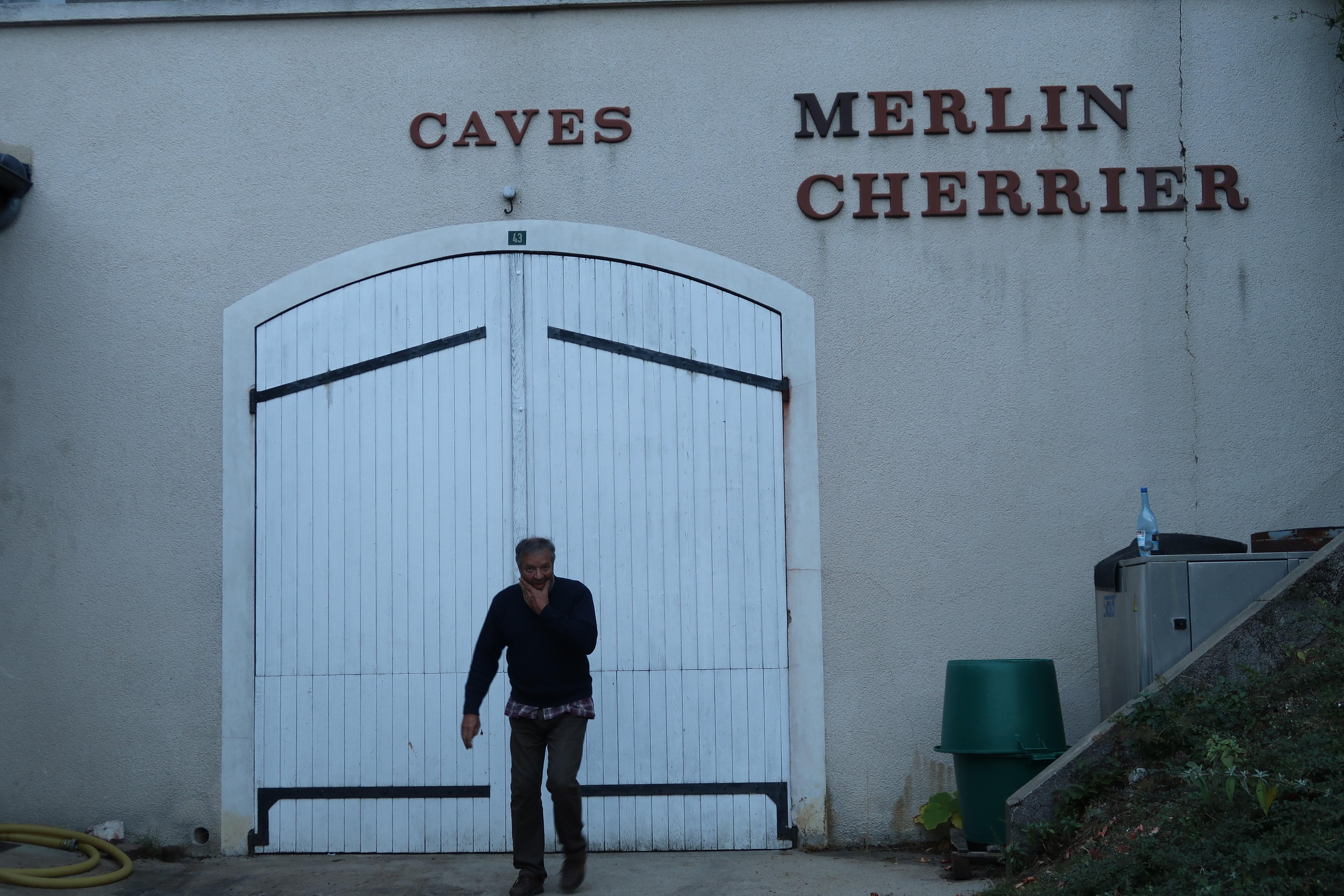 Domaine Merlin Cherrier's Thierry Merlin