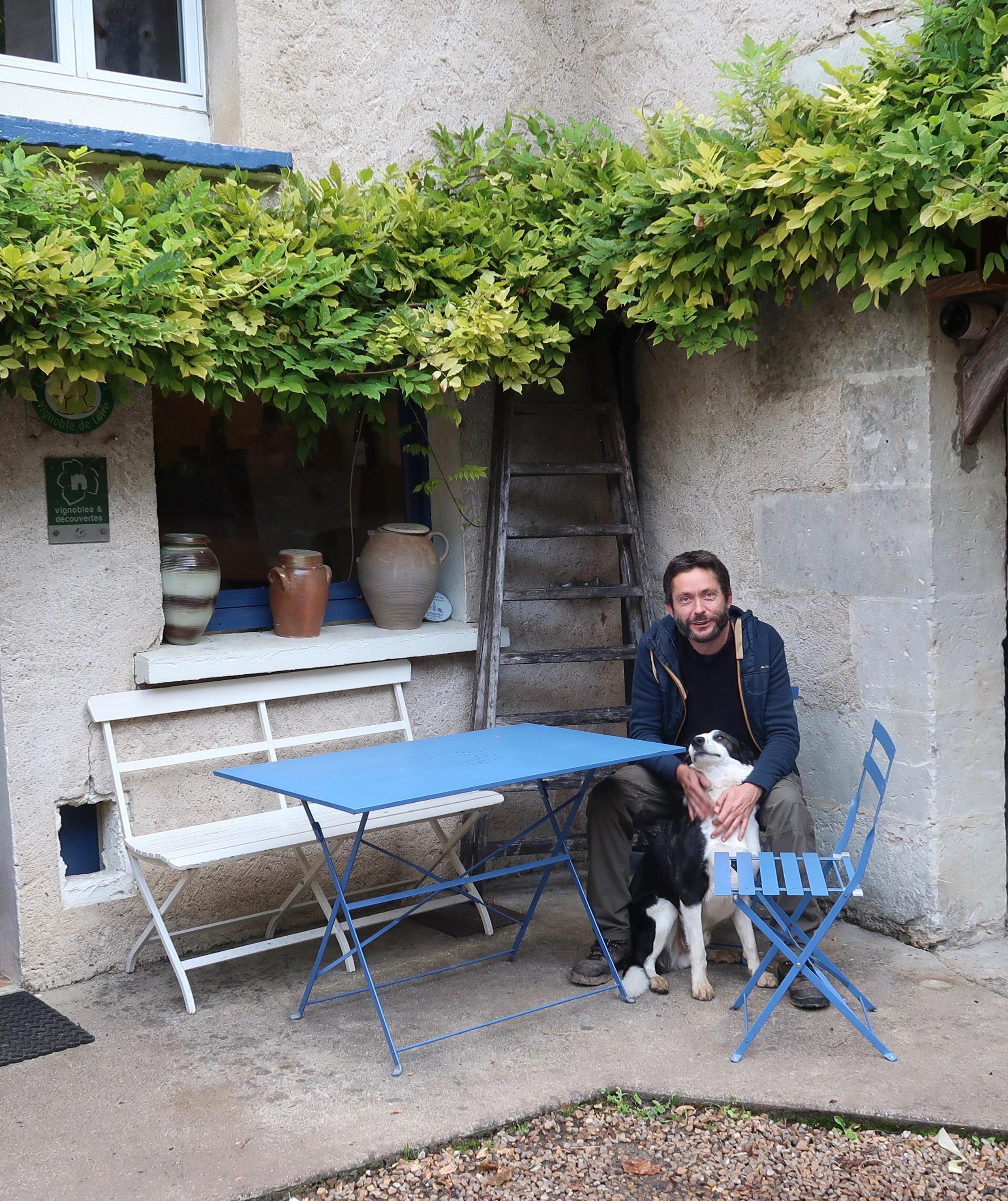 Domaine de la Roche Bleue's Sebastien Cornille