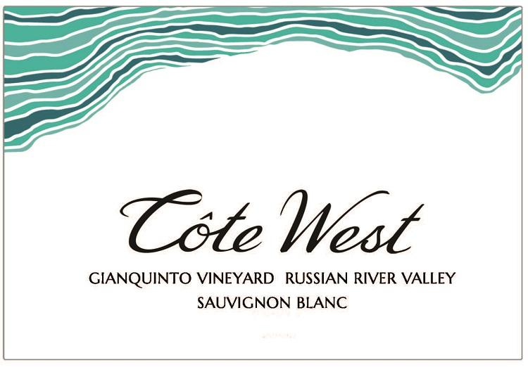Cote West Sauvignon Blanc label