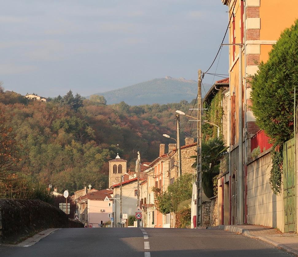 Domaine Pierre Jean Villa in town of Chavanay