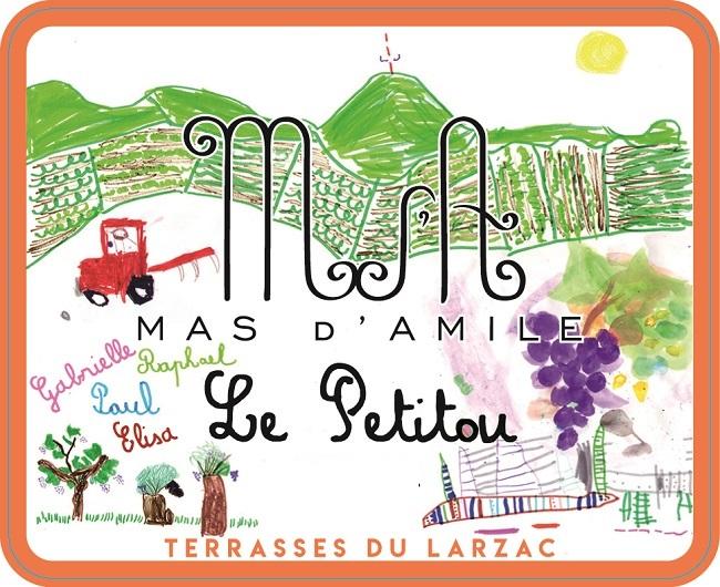 Mas d'Amile Petitou label