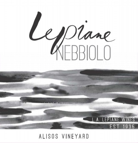 L.A.Lepiane Nebbiolo label