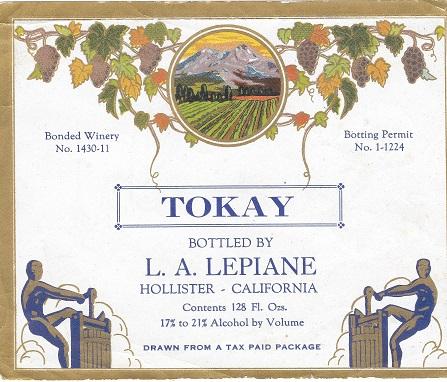 L.A.Lepiane original label