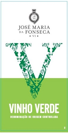 José Maria da Fonseca Vinho Verde label